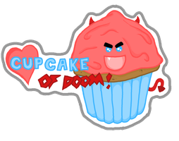 Cupcake of DOOM by The-Muzick-Girl