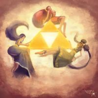 The Triforce by Akurakai