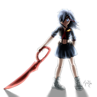 Ryuko Matoi - Nothing is going to stop me by AR-ameth