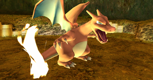 MMD Newcomer Red's Charizard + DL by Valforwing