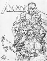 The Avengers by torsor