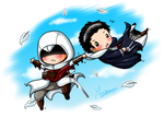Altair x Malik - Holy Escape by YukiMiyasawa
