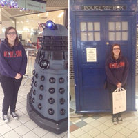 Me and Doctor Who stuff by NatalyaPlatten