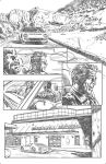 Near Death: hospital page pencil by NoirZone
