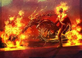 Ghost Rider by weaselpa