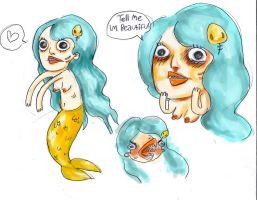 Bootiful sea creature by RecklessRecluse