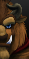 Beast speedpaint by Scent-of-Shadows