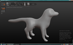 Wolf Base Sculpt by jaclynonacloud