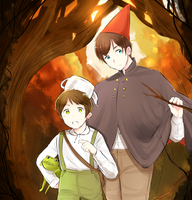 Over the garden wall by SackDrawer