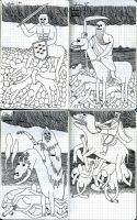 Four horsemen by Teagle