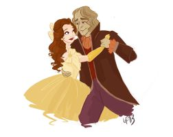 Rumbelle- 1.0 by snoprincess
