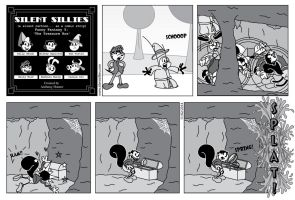 Silent Sillies 109 - Funny Fantasy 5 by JK-Antwon