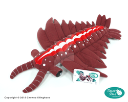 Andy the Anomalocaris - Plush Toy by ChenoaEllinghaus