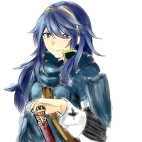 Lucina - Doodle by karennpuff