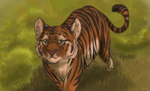 International Tiger Day by louli9559