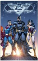 DC Comics Trinity by sinccolor