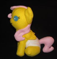 Baby Fluttershy by Gypmina