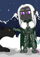 Request: Chibi Drizzt by hclark