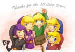 The Four Swords Thank you~ by Angels-Leaf