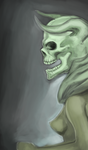 Lich-face by TheSeventhArete