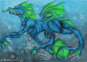 These Are Dragon Waters by Demonic-Haze