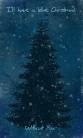 Blue Christmas by katiejo911