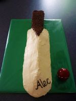 Cricket Bat Cake by 1-Lilith-1