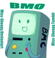 BMO by Miss-Sheepy