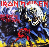 Iron Maiden - Number of Beast by CUBASMETAL