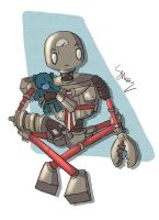 Big Robot Bill of Neverhood by SofiaTaro