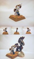 Table-Top Miniature: Littlepip (Fallout Equestria) by NPCtendo
