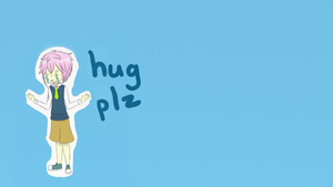 hug plz wallpaper by honeychon