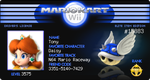 Mario Kart Wii License by TonyToad22