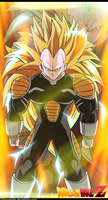 Vegeta - Ssj3 [Color] by nikocopado
