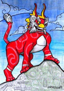 King of Red Lions by thiagoleam