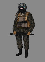 Kuril Soldier by NicklausofKrieg