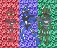 B-fighter medabots by Combatkaiser