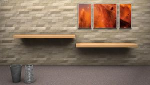 3D Room HD Wallpaper by Szesze15