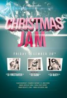 Christmas Jam Flyer / Videoflyer by stockgorilla