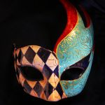 Venetian mask by lenivecc