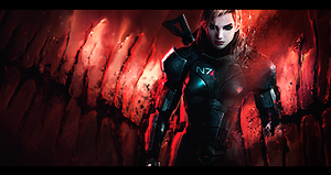 Mass effect girl by matheussos