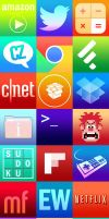 IOS 7 Sytle Icons - Set 1 by whysoawesome