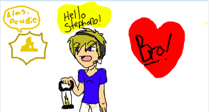 IScribble pewdiepie! 8D by Fire-TheZone