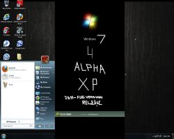 Windows 7 theme for Xp 4 Alpha by Shelkadom
