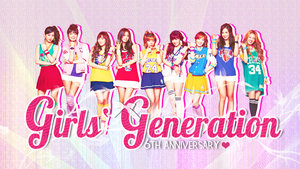 SNSD Wallpaper - 6th Anniversary by Pep by lapep999