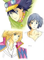 Howl's Moving Castle by yuraland