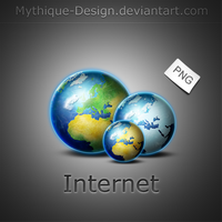 Internet- Globe by Mythique-Design