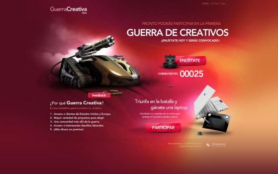 Mockup.GClanding by cerebrocreativo
