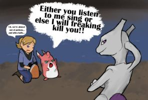 Mewtwo is Freaking Annoying by missbooyaka