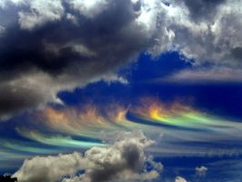 Rainbow Cloud by katie001x